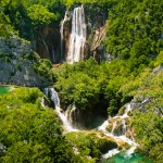 The falls at Plitvice...you can just smell the fresh air